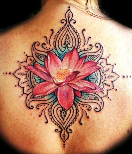50 Awesome Lotus Flower Tattoo Designs