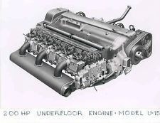 1953 Bussing Bus Engine Factory Photo