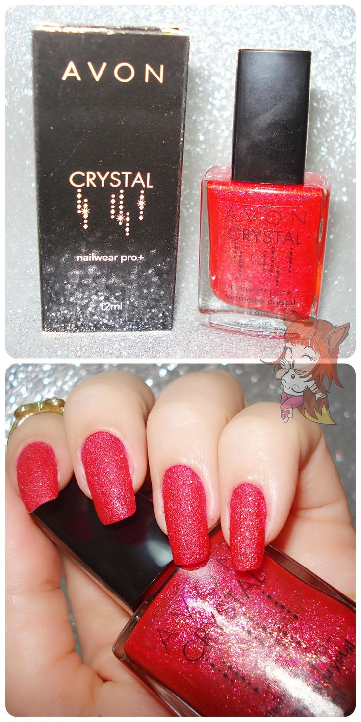 Esmalte Avon :: Vermelho Crystal - Resenha  http://www.ruivacohen.com.br/2016/04/esmalte-avon-vermelho-crystal-resenha.html
