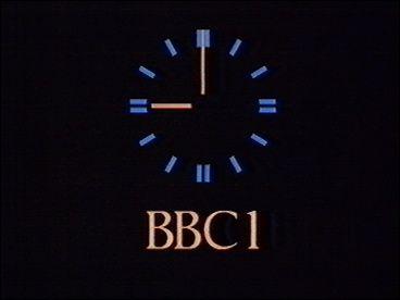 BBC1 clock-Late 1980's