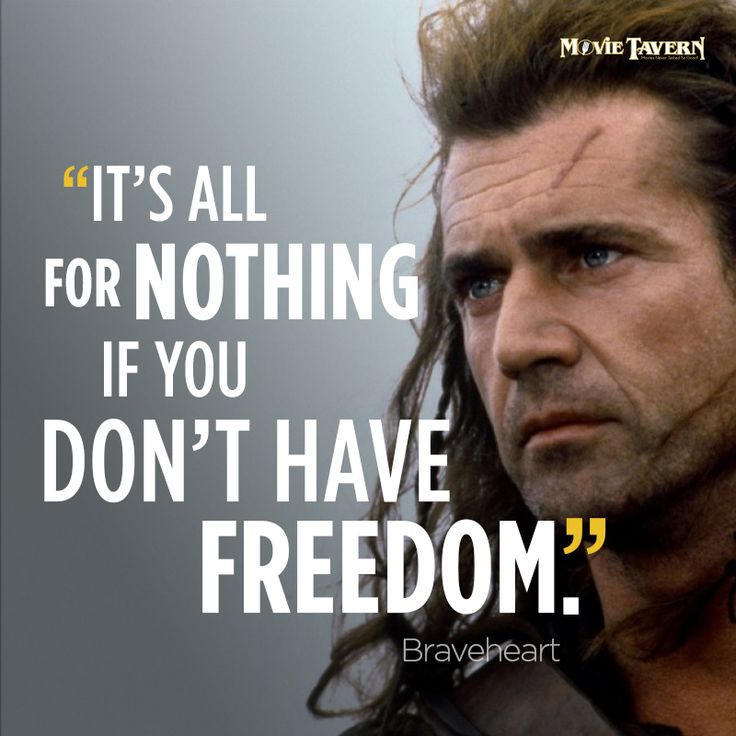 Movie Sayings And Quotes: Braveheart, Movie