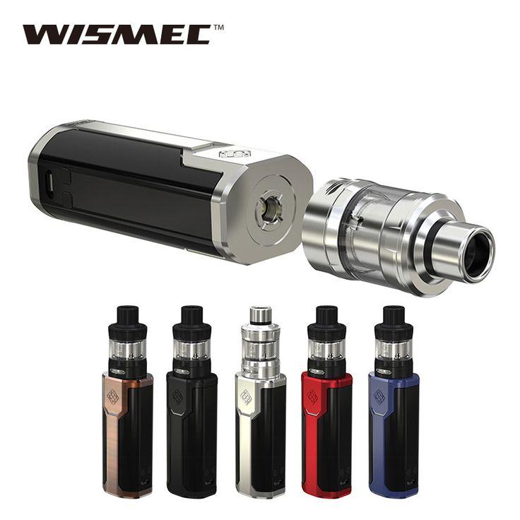 D'origine 80 W WISMEC SINUEUX P80 TC Kit Complet pour Elabo Mini 2 ml Réservoir/Atomiseur et SINUEUX P80 TC Mod Boîte Mod E-cig vaping PAS de batterie