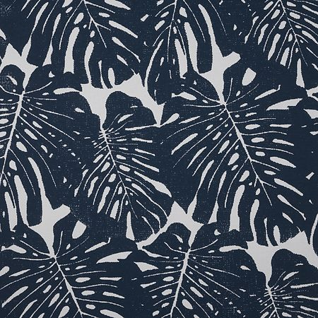 Prints Jack's Jungle 5341 in Navy on White Paperweave