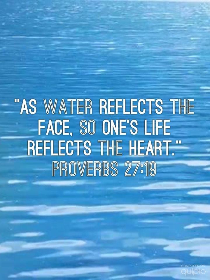 reflections of scriptures Bible verses about reflection listed in order of popularity.