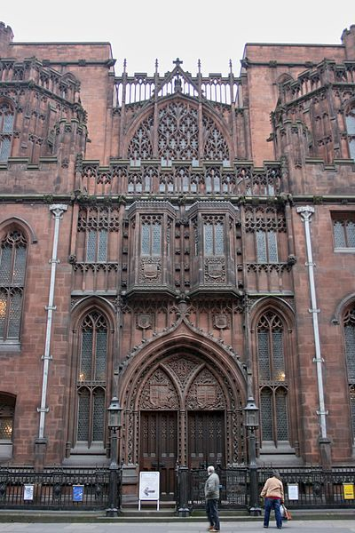 曼切斯特约翰赖兰图书馆John Rylands Library - Manchester. It reminds me of the Ghostbusters' headquarters.