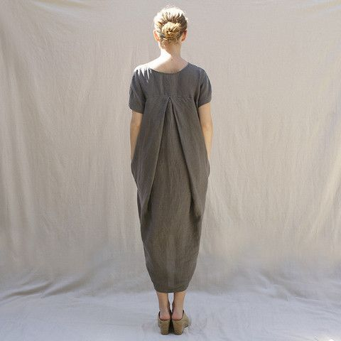 Pleated Cocoon Dress                                                                                                                                                                                 More