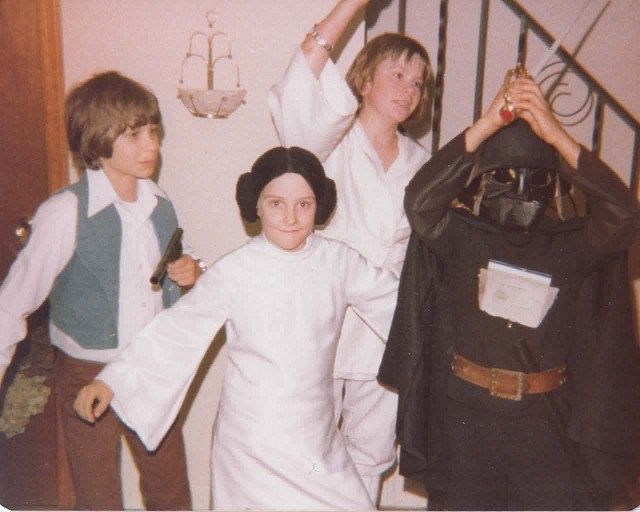Star Wars Halloween costumes, 1977