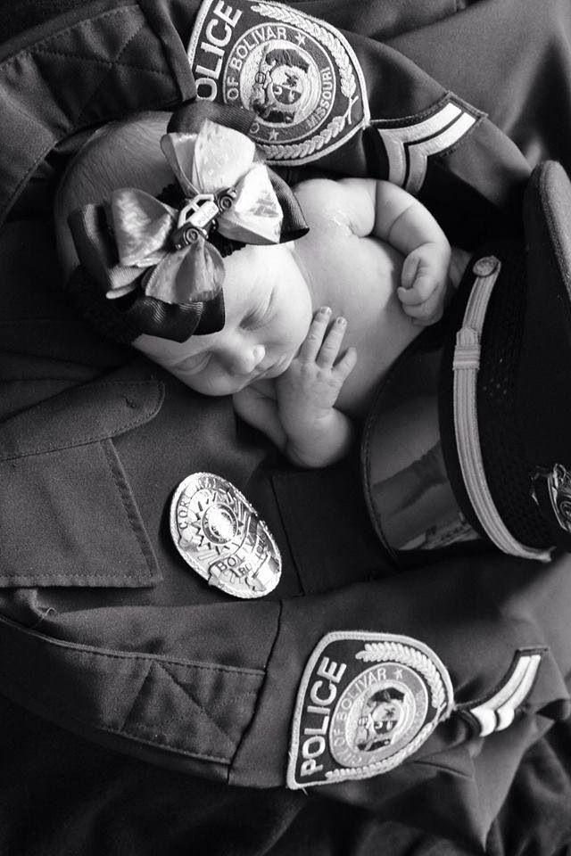 LEO sheriff officer baby photo