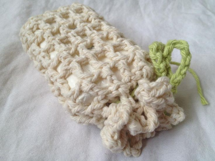 Free Crochet Pattern Soap Bag : 1000+ images about Soap Pouches & Scrubbie Patterns on ...