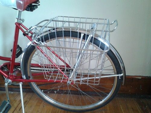 Cruiser Bikes With Rear Baskets diy rear bike basket