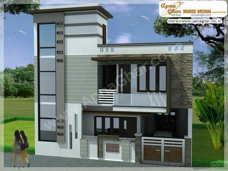 Beautiful duplex  2 floors  house Click on this link   http www apnaghar co in pre design house plan ag page 63 aspx  to view  free floor plans  na Beautiful duplex  2 floors  house Click on this link  http www  . Modern House Design Gallery. Home Design Ideas
