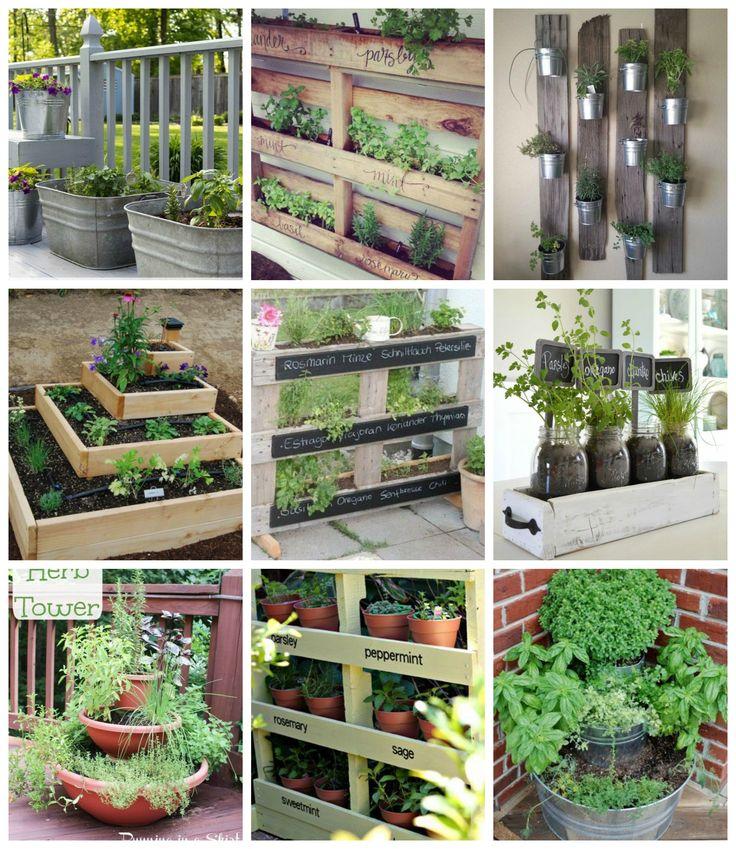 Fűszerkertet már egészen picike helyen is kialakíthatunk legyen szó a balkonról a konyhaablakról vagy egy kis szeg...