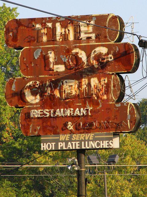 The Log Cabin Restaurant....Frayser, TN