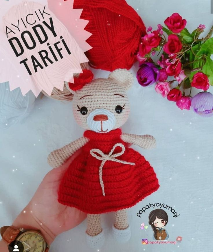 In this article I will share a beautiful amigurumi doll recipe ...   871x736