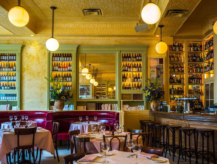 Keith McNally�s latest addition to the Manhattan dining scene is a classic French joint on the Bowery. The restaurateur has perfected a particular brand of bistro over the years (if you've been to Balthazar, you know what we mean�warm lights, mirrors, and cozy booths), and this new space already feels cohesive. The menu is beef-centric, and those dishes work well: Try dry-aged prime rib with pommes souffl�s or the gruyere-topped cheeseburger and fries.