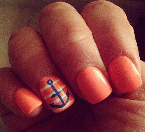 cute design~~22 Beautiful Summer Nail Designs