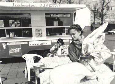 Marttakahvio Joensuussa 1980-luku.