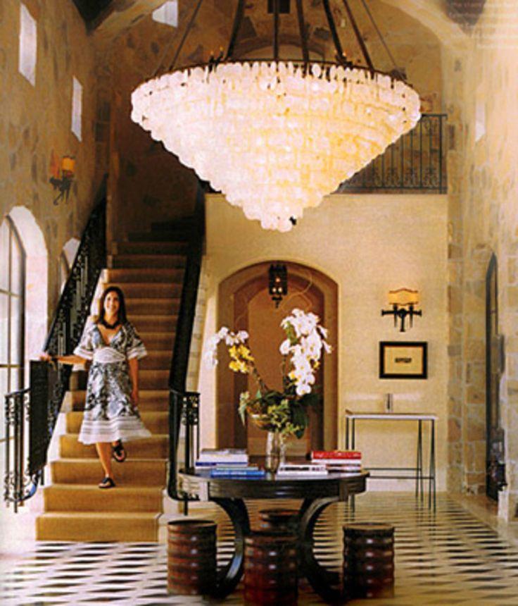 25 best ideas about capiz shell chandelier on pinterest - Capiz shell bathroom accessories ...