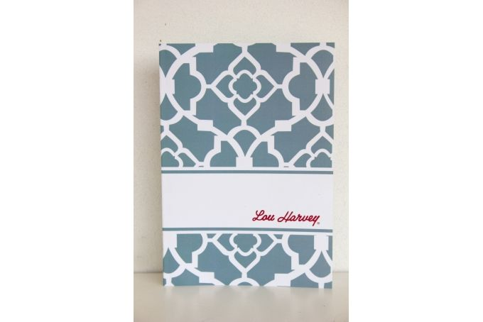 Lou Harvey notebook by Lou Harvey Stationery