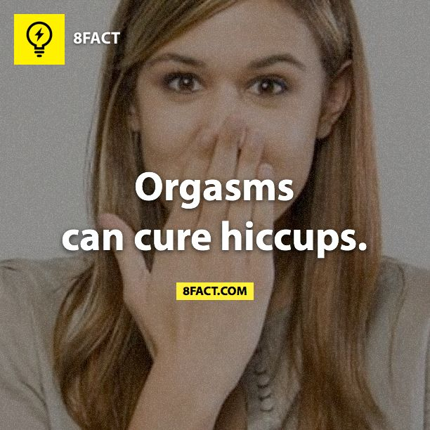 Oh well next time i get the hiccups ill just drop trou and take care of that. Lol