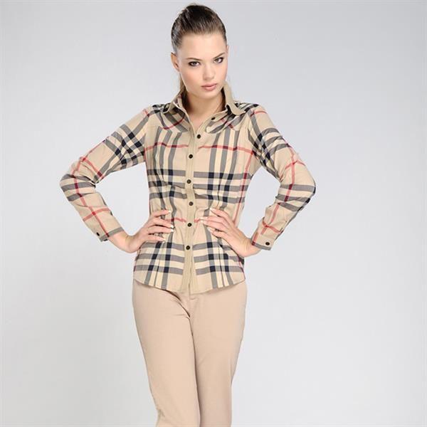 Рубашка барбери женская