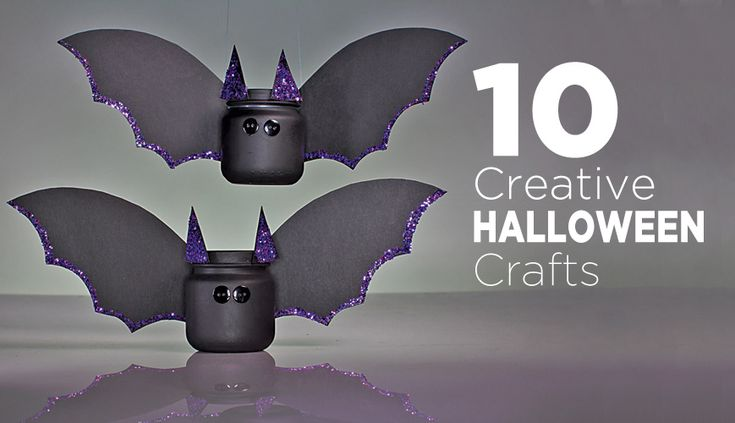 Easy, inexpensive #DIY #Halloween crafts to try