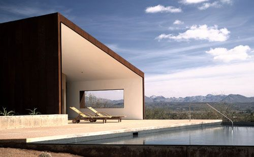 Minimalist Desert House Design Rick Joy Arizona More