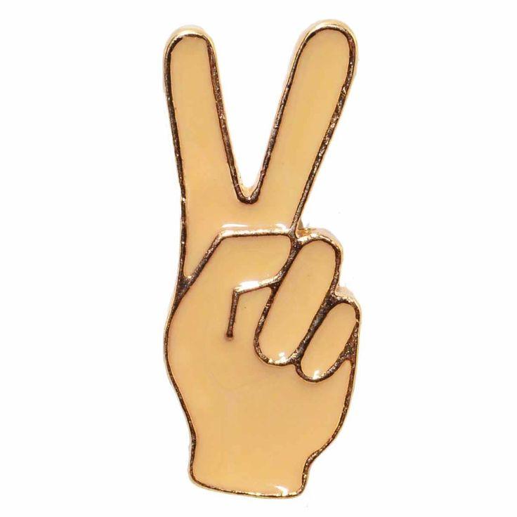 Enamel Pin - Peace Sign