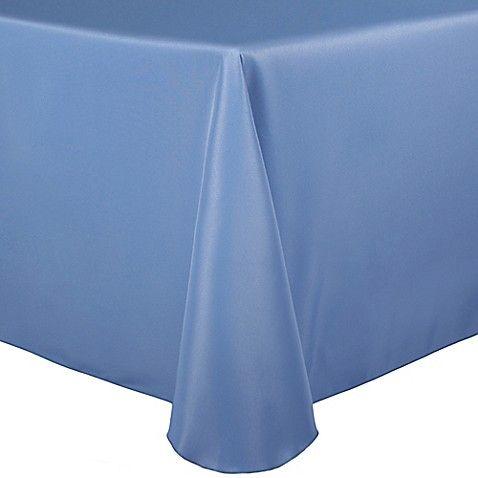 Basic Polyester Oblong Tablecloth