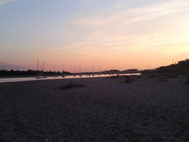 The beach in Rush <3
