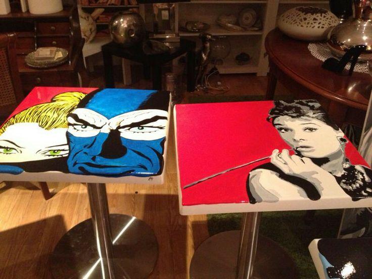 Tavolini pop art