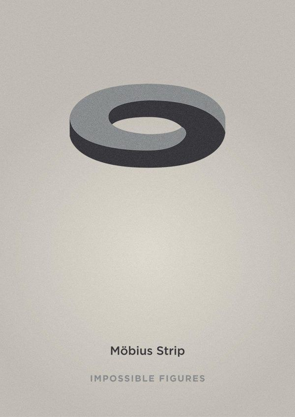 Möbius Strip // Impossible Figures by Éric Le Tutour