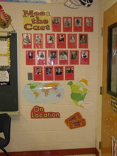 Clutter-Free Classroom: Hollywood Theme Classrooms