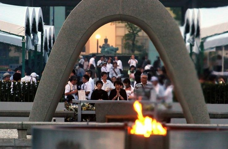 Hiroshima dedica minuto de silêncio no 70º aniversário da bomba atômica | Mundo-Nipo
