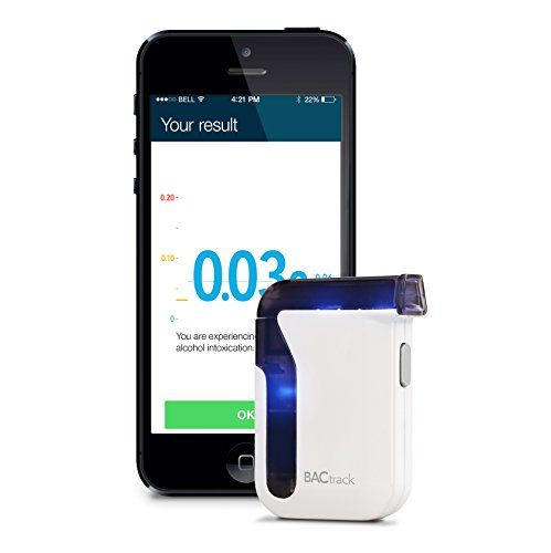 BACtrack Mobile Smartphone Breathalyzer for iPhone and Android Devices - Instantly transform your smartphone into a police-grade breathalyzer with the award-winning BACtrack Mobile. Quickly and easily estimate your blood alcohol content (BAC), track your BAC results over time, and with ZeroLine, estimate when your BAC will return to 0.00%. Features wireless... - http://buytrusts.com/giftsets/cell-phones-accessories/bactrack-mobile-smartphone-breathalyzer-for-iphone-and-androi