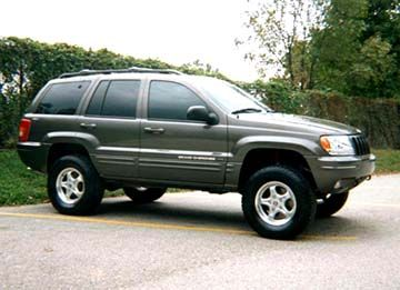 Jeep Grand Cherokee lift kit