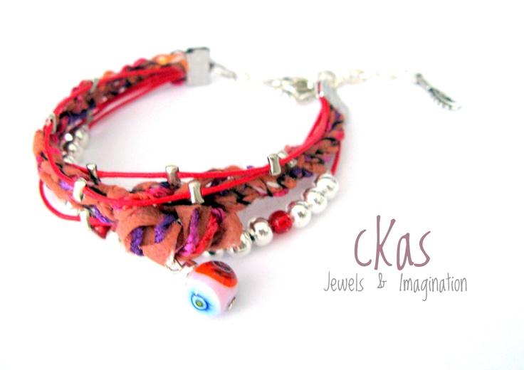 Ethnic Haiku Bracelets cKas by Klarita Bijoux