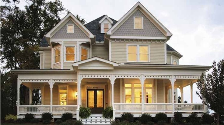 3story country with wrap around porch victorian house