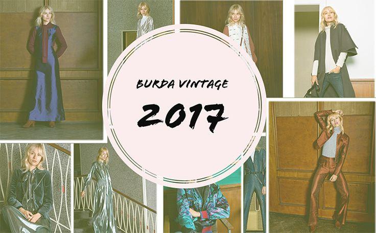 BURDA DERGİSİ 2017 VINTAGE