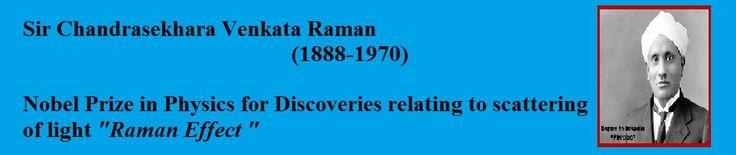 SIR C.V .RAMAN