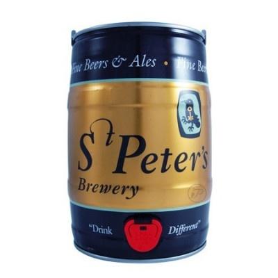 Fut de bière anglaise St Peter's Cream Stout