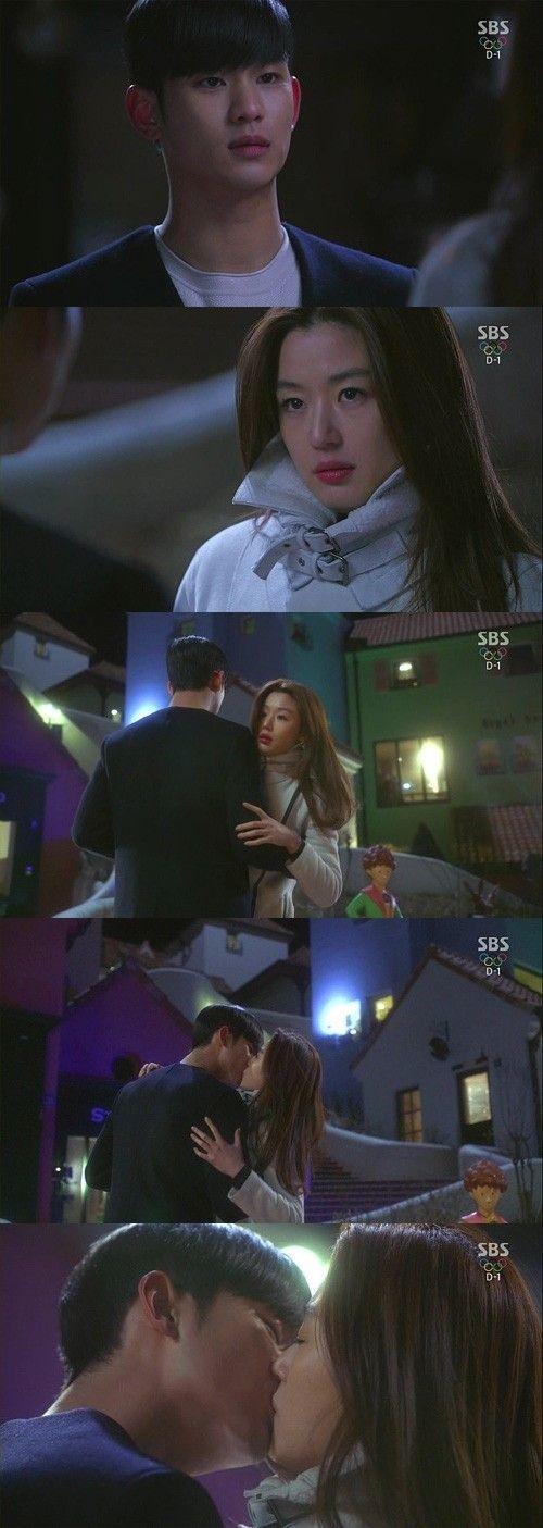 """「星から来たあなた」キム・スヒョン、チョン・ジヒョンに超能力で""""利己的なキス"""" - DRAMA - 韓流・韓国芸能ニュースはKstyle"""