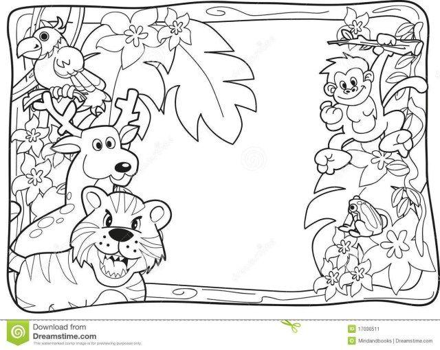 Brilliant Picture Of Jungle Animal Coloring Pages Entitlementtrap Com Animal Coloring Pages Jungle Coloring Pages Animal Coloring Books