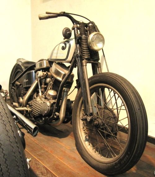 Bobber Inspiration   Panhead   Bobbers and Custom Motorcycles   miladeathproof June 2014
