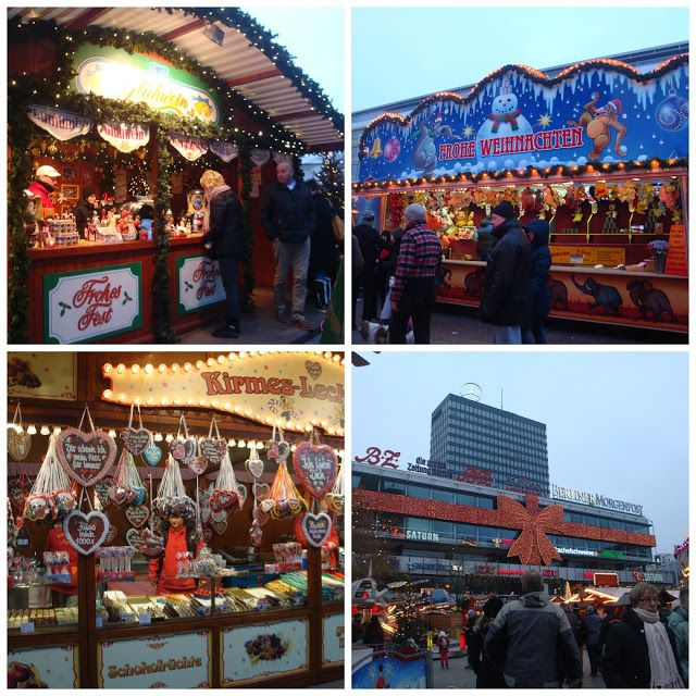 Mercado de Natal - Christmas Market at the Kaiser Wilhelm Memorial Church, Berlim