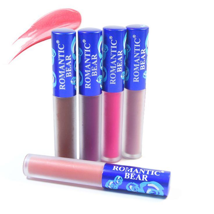 New 12 Colors Sexy Cosmetics Lime Moisturizing Red Velvet Matte Liquid Lipstick Makeup Lip Gloss Cosmetic Lip Stain Maquiagem