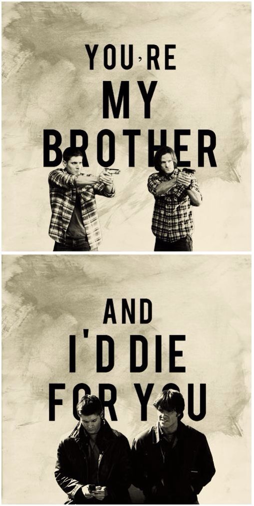 The thing I love most is that no matter what, they're brothers and they look after each other and they're relationship is always strong ❤
