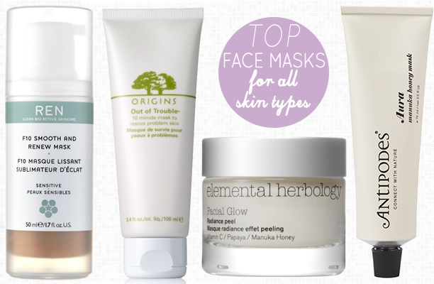 Top Face Masks For All Skin Types - Nouvelle Daily