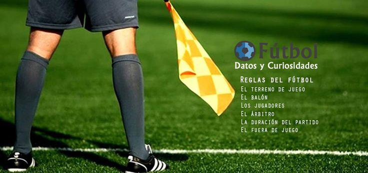 Reglas del fútbol. Conoce las medidas de un campo de fútbol, regla del fuera de juego y más... #futboldyc #reglas