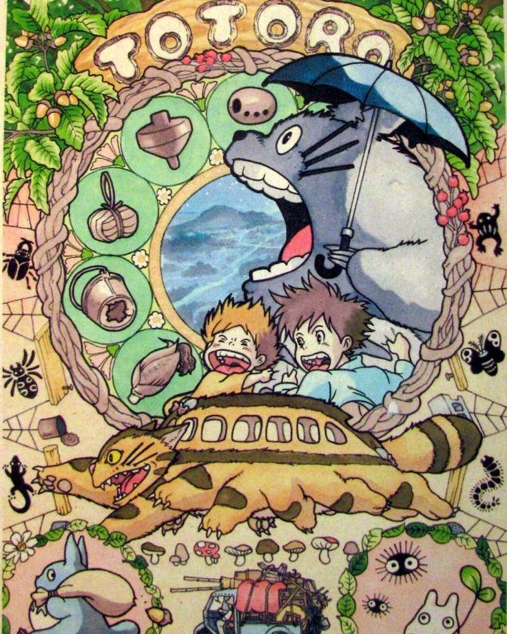 Очень красочный постер с #тоторо с изображением всех героев и даже мелких вещичек появлявшихся в фильме. Этот и многие другие постеры можно купить у нас на сайте movie-poster.ru #movieposter #anime #miyazaki #totoro #poster #onlineshop #миядзаки #постер #плакаты #аниме #онлайнмагазин by movie.poster.shop